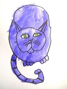 South Hills Elementary Art: Andy Warhol Cats (2nd Grade)