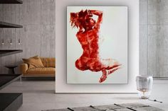nude wall art wall painting oil painting canvas painting image 0