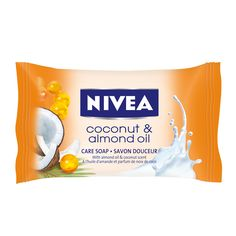 NIVEA SEIFE COCONUT & ALMOND OIL