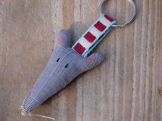 Maus- Schlüsselanhänger von Doki-Design auf DaWanda.com