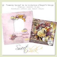 Sweet-Chick Scrap and Co: Coming Spring by Angel's Design