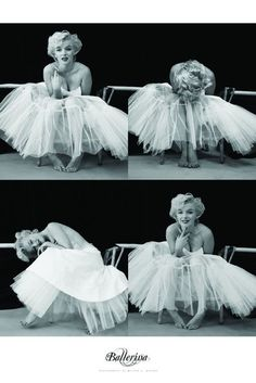 Marilyn Monroe (Ballerina Sequence) These are my favorite pics of Marilyn!