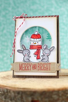 Just ME: snow day.  looking for some cute shaker/snow globe cards