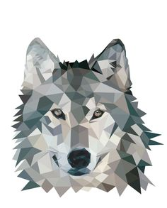 Daily Inspiration - Wolf Illustration  Check us out at www.owlrepublic.com