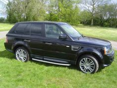 2011 #LandRover #RangeRoverSport 3.0 tdv6 30 diesel Estate. Black. Click for more pictures. £34,995