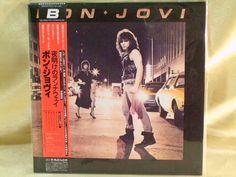 CD/Japan- BON JOVI s/t (1st/debut) w/OBI RARE MINI-LP UICL-93001 #MelodicHardRock
