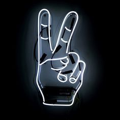Oliver Gal 'Peace' Neon Sign
