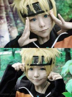 Adorable Naruto Cosplay *-* - COSPLAY IS BAEEE! Tap the pin now to grab yourself some BAE Cosplay leggings and shirts! From super hero fitness leggings, super hero fitness shirts, and so much more that wil make you say YASSS! Cosplay Kawaii, Cosplay Anime, Naruto Cosplay, Epic Cosplay, Cute Cosplay, Cosplay Makeup, Amazing Cosplay, Cosplay Outfits, Costume Manga