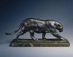 Walking Panther, 1903 Rembrandt Bugatti (Italian, 1884-1916), bronze