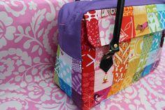 Sew Sweetness: Tutorial: The Conversation Bag