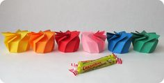 *Tadaam !: Boîte en spirale origami