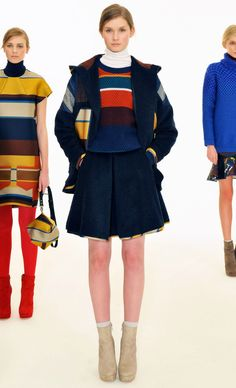 Primary color twist by Ostwald Helgason F/W 2012