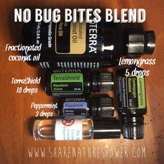 Start as a dōTERRA WELLNESS Advocate or just buy as a Wholesale Member How to create an easy doTERRA essential oils roller bottle blend to keep mosquitoes away (No Bug Bites Blend) www. Essential Oil Uses, Natural Essential Oils, Essential Oil Diffuser, Doterra Diffuser, Roller Bottle Recipes, Doterra Wellness Advocate, Smoothies, Doterra Essential Oils, Doterra Blends