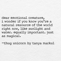 Thug Unicorn by Tanya Markul