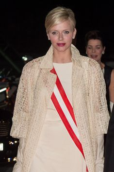 Princess Charlene of Monaco attends the Monaco National day Gala concert as part of Monaco National Day Celebrations at Grimaldi Forum on November 19, 2012 in Monaco, Monaco.
