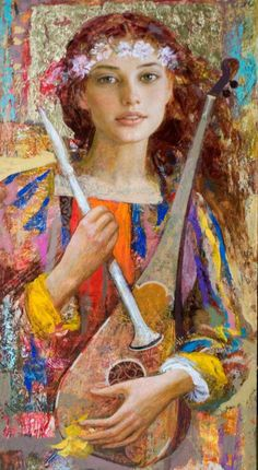 """""""Sonadora"""" -- by Goyo Dominguez Spanish-born British Romantic artist) Woman Painting, Painting & Drawing, Spanish Painters, Art Pictures, Photos, Abstract Painters, Portraits, Beautiful Paintings, Belle Photo"""