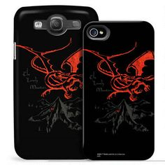 The Hobbit:  An Unexpected Journey Smaug Phone Case for iPhone and Galaxy - deciding between this and the hobbit door.