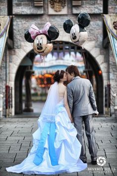 December 2014. Our anniversary vow renewals at Walt Disney World. :) love this!!!