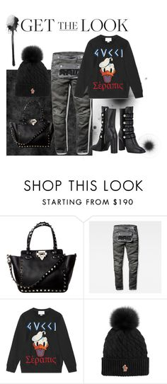 """""""my winter look"""" by liekejongman on Polyvore featuring G-Star Raw, Gucci, Moncler Grenoble and Kristin Cavallari"""