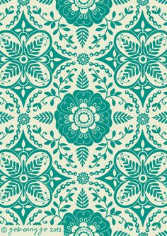 Surface Pattern Design and Illustration by Go Benny Go.