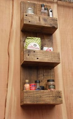 Tall Rustic Kitchen / Bathroom Storage Shelves Made From Rec.- Tall Rustic Kitchen / Bathroom Storage Shelves Made From Reclaimed Wood Tall Rustic Kitchen / Bathroom Storage Shelves Made From Reclaimed Wood - Bathroom Storage Shelves, Wood Storage, Storage Ideas, Kitchen Storage, Kitchen Shelves, Pallet Storage, Diy Storage, Kitchen Cabinets, Kitchen Pantry
