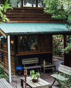 The pad where Barney Cools was conceivedNestled between bushland and inhabited by our founder Nat and his pet possum. Keep an eye out for the creeps in the window!