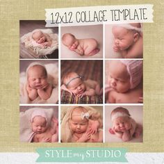 Free Photo Template : : : Facebook Fan FREEBIE! INSTANT DOWNLOAD!!!  12 x 12 inches images courtesy of http://www.SweetLittleYouPhotography.com