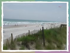 Favorite Beach in North Carolina, Topsail Island. Also wins best sea shell & sea glass collecting full stop.