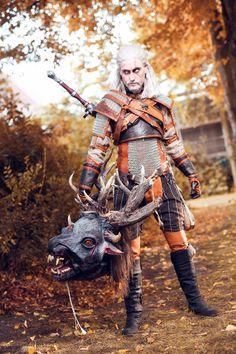 J!NX : Cosplay Spotlight - Geralt of Rivia