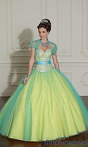 Buy Layered Tulle Quinceanera Dress by Mori Lee at SimplyDresses