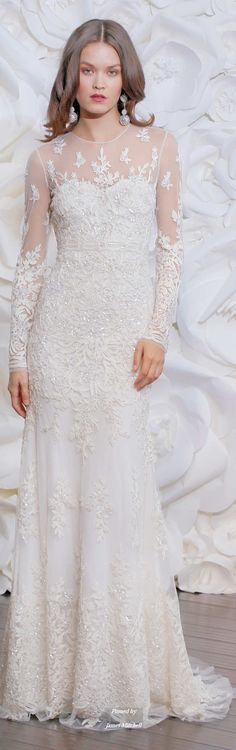 Naeem Khan Collection Fall 2015 Bridal