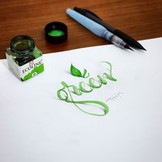 3D Lettering with Parallelpen-Brushpen&Pencil.As allways, I tried to create 3D anamorphic illustration, typography and lettering with calligraphy tools and pencil.  And this time I have a short compilation video at the end. I hope you will enjoy.