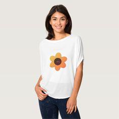 Hippie-Flower_Summer-Autumn-Casual-Dress-Up T-Shirt