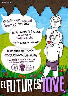 El futur és jove 2013 d'Edu Polo. Colla Jove Xiquets de Tarragona.
