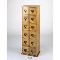See additional information on the Leslie Dame Solid Oak Library Style CD Cabinet (Various Finishes) CD-228 below.