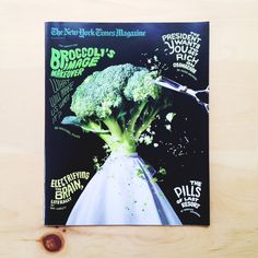 Broccoli, New York Times, 2013