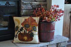 Cottons 'n Wool: pumpkin pillow