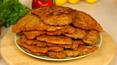 One more  classic sunday  diner dish born in Poland.  Schaboszczk :) KOTLET SCHABOWY