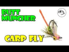 Butt Muncher Carp Fly from Fly Fish Food - YouTube