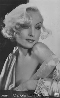 Carole Lombard------------------The beautiful, Carole Lombard                                                                                                                                                      More