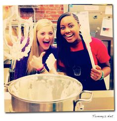 """Jamie Grace and AJ Michalka in the """"Grace Unplugged Film"""""""
