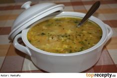 Polévka tety Janky Czech Recipes, Ethnic Recipes, Homemade Perfume, Cheeseburger Chowder, Stew, Food And Drink, Meals, Drinks, Soups