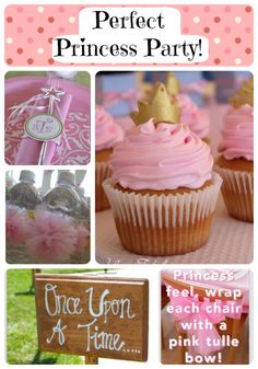 Princess Theme Party Ideas! ADORABLE IDEAS!!! I love the signs up the driveway the best!