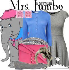 DisneyBound  Mrs. Jumbo                                                                                                                                                                                 Más