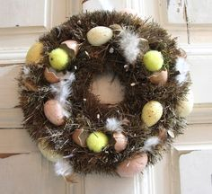 Húsvéti koszorú Christmas Wreaths, Holiday Decor, Home Decor, Decoration Home, Room Decor, Home Interior Design, Home Decoration, Interior Design