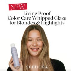 Living Proof Color Care Whipped Glaze for Blondes & Highlights - Modernes Beauty Tips For Hair, Beauty Hacks, Hair Beauty, Hair Creations, Living Proof, Fancy Hairstyles, Blonde Highlights, Hair Hacks, Hair Goals