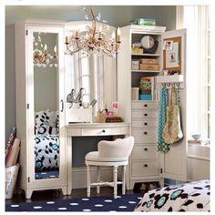 Inspirational Interior Home Design Ideas for Living Room Design, Bedroom Design, Kitchen Design and Home Furniture. Girls Bedroom Furniture, Home Bedroom, Bedroom Decor, Extra Bedroom, Modern Bedroom, Furniture Vanity, Ikea Furniture, Trendy Bedroom, Furniture Design