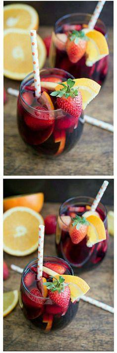 Consiéntete este verano con una deliciosa y refrescante sangría. Haz click aquí para conocer la receta.