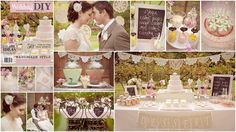 Another Boutique Events wedding shoot - makes me want to become a wedding planner!