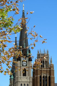 Signs of fall at Marquette University